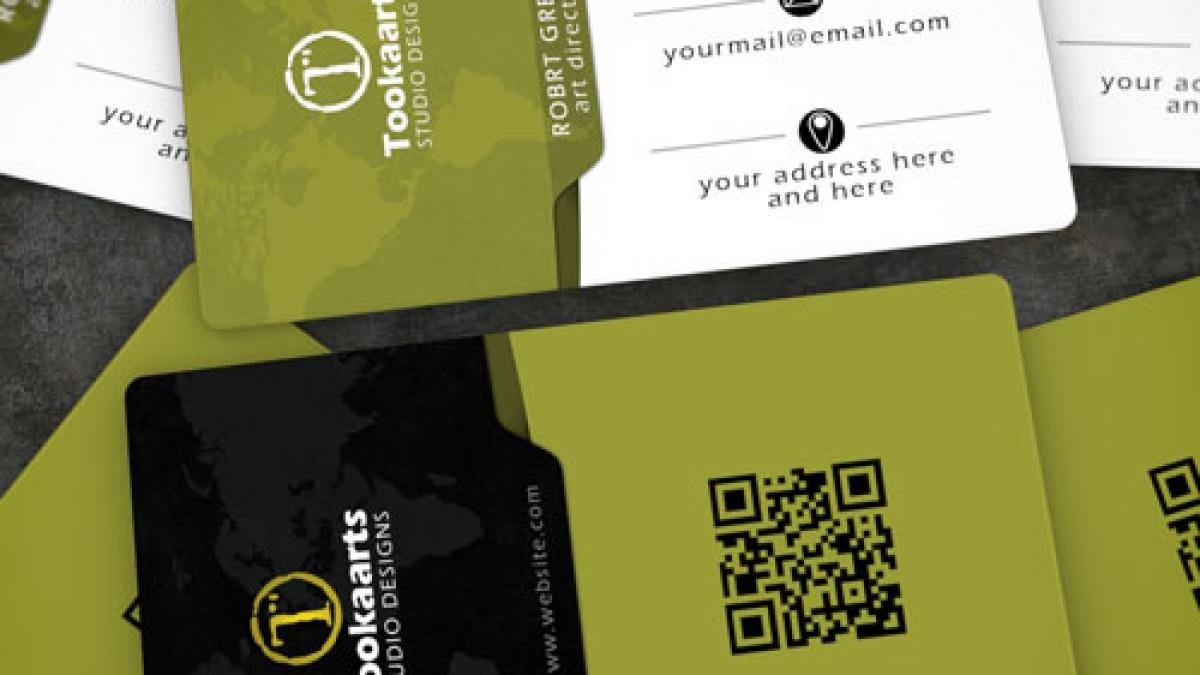 Edge Elegant corporate Business Card tookaarts